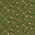 MAYWOOD STUDIO - Wild Rose Flannel - Little Buds - Green