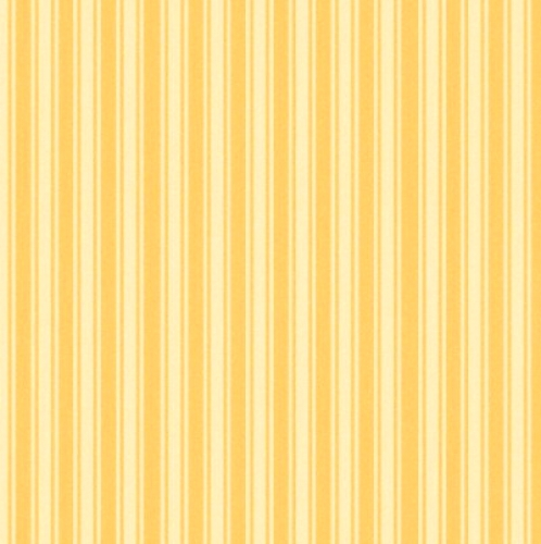 MAYWOOD STUDIO - Wild Rose Flannel - Tonal Stripe - Yellow