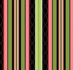 MAYWOOD STUDIO - Sweet Pea Flannel - Stripe - Multi