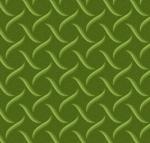 MAYWOOD STUDIO - Sweet Pea Flannel - Tufted Swirls - Green