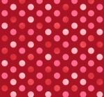 MAYWOOD STUDIO - Sweet Pea Flannel - Confetti Dots - Red