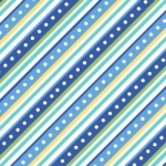 MAYWOOD STUDIO - Lil' Sprout Flannel Too - Diagonal Stripe - Blue