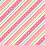 MAYWOOD STUDIO - Lil' Sprout Flannel Too - Diagonal Stripe - Pink