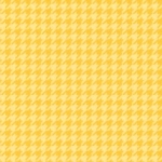 MAYWOOD STUDIO - Lil' Sprout Flannel Too - Houndstooth - Sunny Yellow