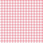 MAYWOOD STUDIO - Lil' Sprout Flannel Too - Houndstooth - White/Pink