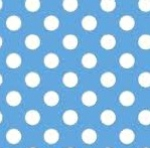 MAYWOOD STUDIO - Lil' Sprouts Flan Too - Kim Christopherson - Dots - Blue - White