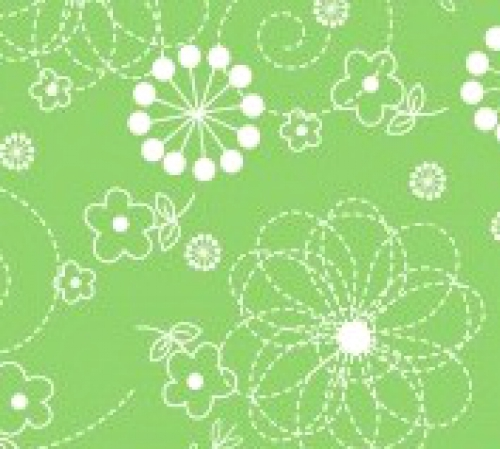 MAYWOOD STUDIO - Lil' Sprouts Flan Too - Kim Christopherson - Doodles - Green