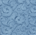 MAYWOOD STUDIO - Beautiful Backing - BACKING - Vine Blue