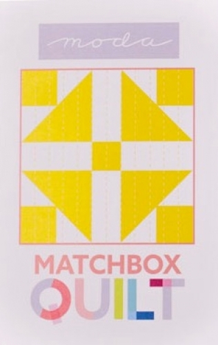 Matchbox Unboxed Quilt Kit - Yellow