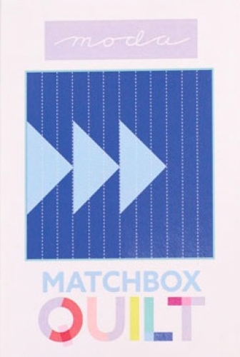 Matchbox Unboxed Quilt Kit - Blue