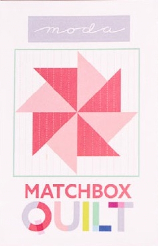 Matchbox Quilt Kit - Coral
