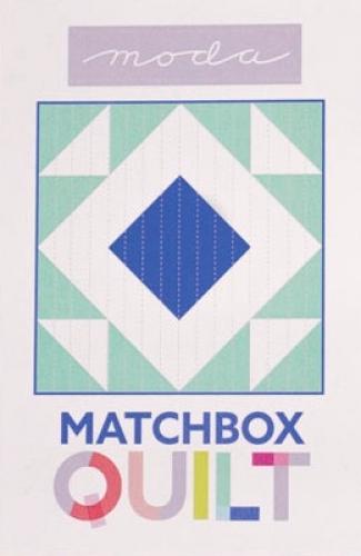 Matchbox Unboxed Quilt Kit - Cobalt  Blue