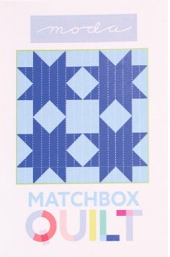 Matchbox Unboxed Quilt Kit - Light Blue