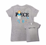 Clearance - Gray Medium Cut Piece Press & Quilt T-Shirt