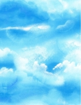 TIMELESS TREASURES - Meadow - Sky - Blue