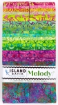Island Batiks - Melody 2.5 Inch Strip Pack