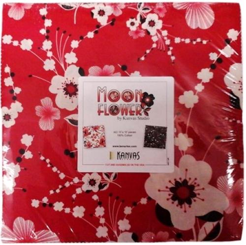 Benartex - Moon Flower 10x10 Pack