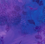 TIMELESS TREASURES - Misty by Chong-a Hwang - Misty Hydrangea Air - Violet