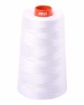 Aurifil - White Mako Cotton Embroidery Thread 50wt 6452yds