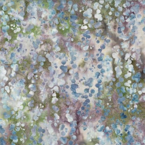 HOFFMAN - McKenna Ryan - Bali Batik - String Of Pearls - Stone Green - K75106-