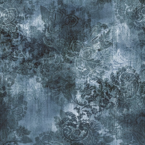 HOFFMAN - Vintage Farmhouse by McKenna Ryan Designs - Paisley - Aegean