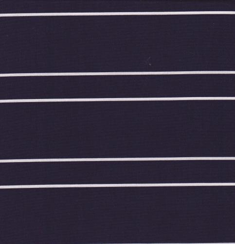 HOFFMAN - Simply Eclectic Indigo - Stripe - Indigo/White