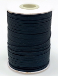 Elastic - Black 1/8 inch - 100 yard spool