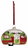 Sullivans 4in Glass Camper Ornament