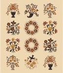 RILEY BLAKE - Bountiful Autumn - Fall Floral Panel - Multi - PL559