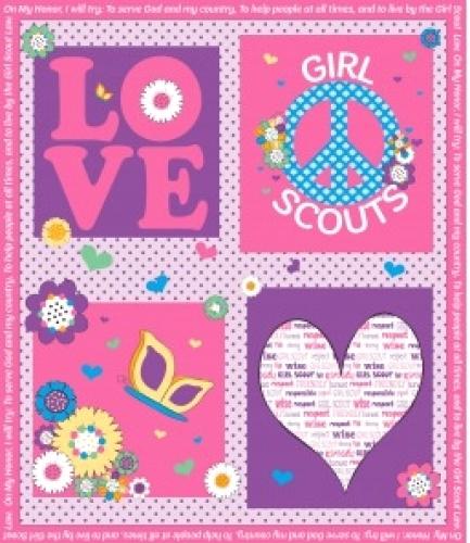 RILEY BLAKE - Girl Scout - PANEL FB5140