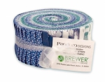 Panduro - Teal Blue 2.5 Inch Strip Roll by Panduro Design
