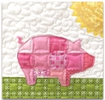 Joy the Pig Block Kit - Fun on the Farm