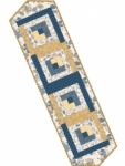 Maywood Studio - Pearl Essence Log Cabin Table Runner Pod