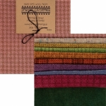 Primitive Gatherings - 5 Inch Pastel Texture Wool Charm Pack