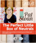 Aurifil - The Perfect Little Box of Neutrals Thread Collection 50wt 10 Small Spools