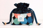 Purl Project Bag Project Sheet PSRS2029-2 by Sarah Watts Ruby Star / Moda