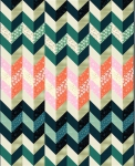 Purl Project Sheet - Big Knit Quilt  PSRS2029 by Sarah Watts Ruby Star / Moda