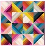 Jelly Rainbow Quilt Project Sheet PSRS5027 Moda
