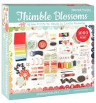 Puzzle - Thimble Blossoms Jigsaw Puzzle by C&T Publishing