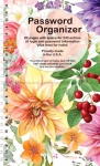 Password Organizer - Bright Floral by It Takes Two