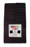 Benartex - Solid Black 2.5 Inch Strips