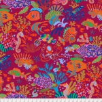FREE SPIRIT - Kaffe Fassett Collective - Spring 2018 - Scuba - Red