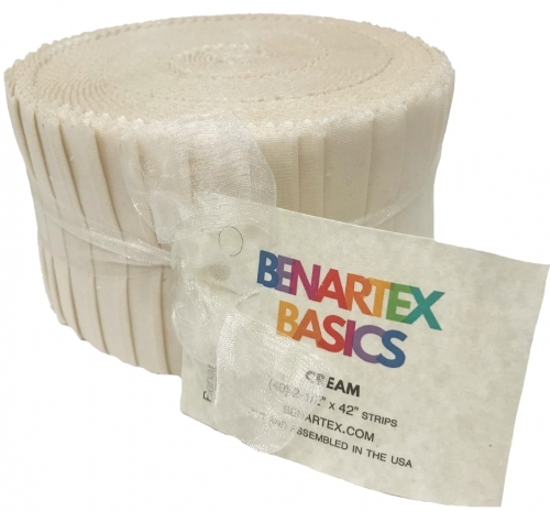 Benartex - Solid Cream Pinwheel