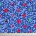 FREE SPIRIT - Kaffe Fassett Collective Classics - Guinea Flower - Cobalt