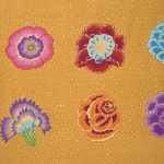 FREE SPIRIT - Kaffe Fassett Collective Stash - Corsage - Gold