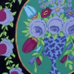 FREE SPIRIT - Kaffe Fassett Collective Stash - Cameo - Black