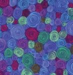 FREE SPIRIT - Kaffe Fassett - Philip Jacobs - Rolled Paper - Blue