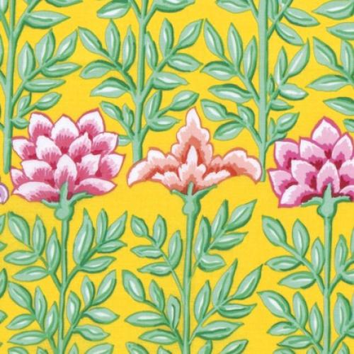 FREE SPIRIT - Kaffe Fassett Collective Classics - Mughal - Yellow