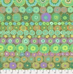 FREE SPIRIT - Kaffe Fassett Collective - Spring 2019 - Row Flowers - Green