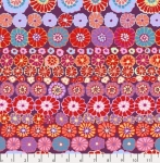 FREE SPIRIT - Kaffe Fassett Collective - Spring 2019 - Row Flowers - Red